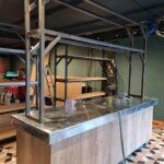 Pizzani, Horeca Interieur, Siebendesign, Balie, Staal