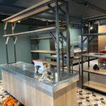 Pizzani, Horeca Interieur, Op Maat Gemaakt, Staal, Siebendesign