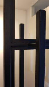 Detail stalen deuren